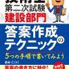 3月18日(土)に技術士試験・受験対策書が出版されます